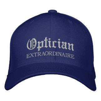 Optician Extraordinaire Embroidered Cap