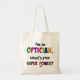 Optician Super Power Tote Bag