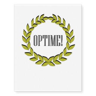 Optime! Excellent job!