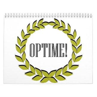 Optime! Excellent job! Wall Calendars
