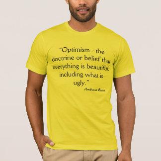 Optimism Cynical Definition by Bierce T-Shirt