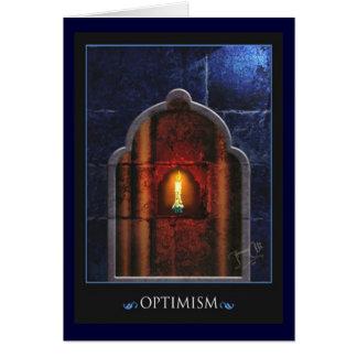 optimism greeting card