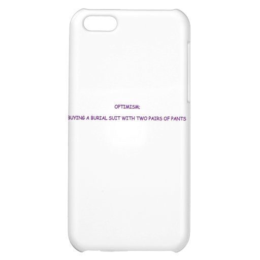 OPTIMISM COVER FOR iPhone 5C