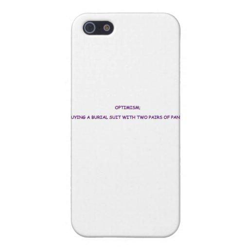OPTIMISM iPhone 5 CASES