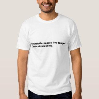 Optimism is Depressing T-shirt