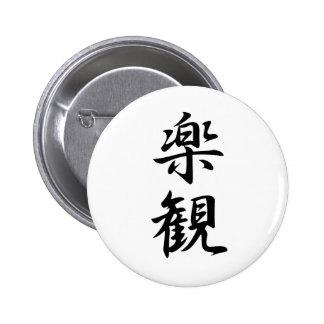 Optimism - Rakkan 6 Cm Round Badge