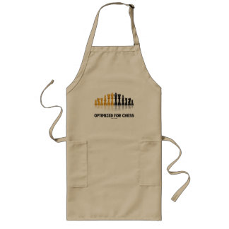 Optimized For Chess Reflective Chess Set Apron