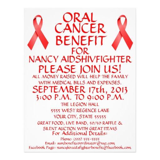 Oral Cancer Benefit Flyer