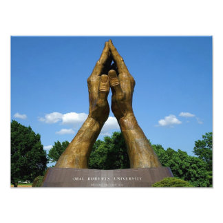 Oral Roberts University Praying Hands Photo Print