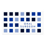 ORAL SURGEON (mod squares) Pack Of Standard Business Cards