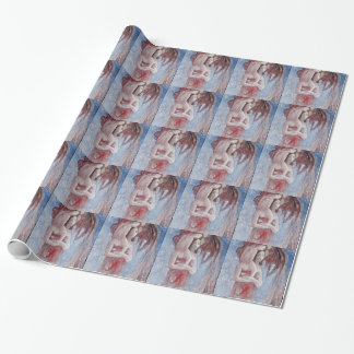 Orana Maria (Hail Maria) by Paul Gauguin Wrapping Paper