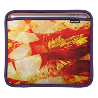 Orange Abstract iPad Sleeve