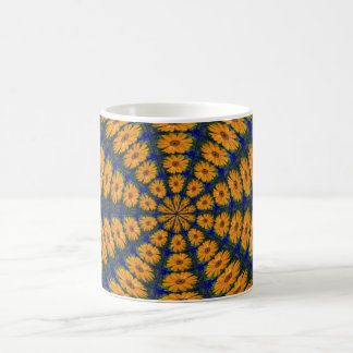 Orange African Daisy Mug