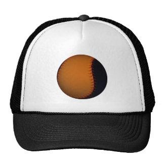 Orange and Black Baseball / Softball Cap