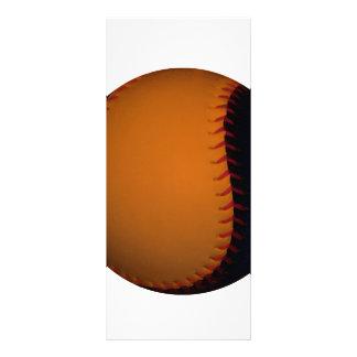Orange and Black Baseball / Softball Custom Rack Card