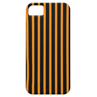 Orange and Black Stripes iPhone 5 Covers
