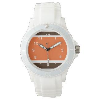 Orange and Brown Rockin Downtown Watch