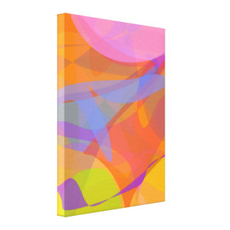 Orange and Other Fruits Gallery Wrap Canvas