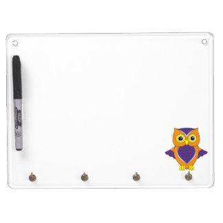 Orange and Purple White Board Dry-Erase Board