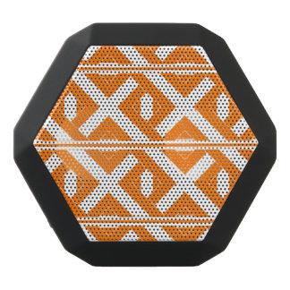 Orange and White Criss-Cross Bluetooth Speaker