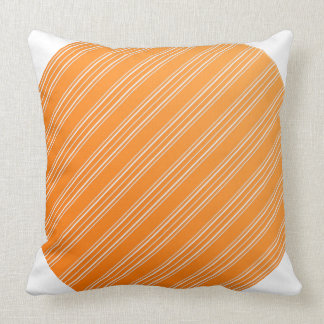 Orange And White Cushions