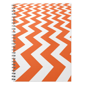 Orange and White Fast Lanes Note Book