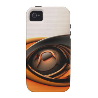 orange and white iphone cover Case-Mate iPhone 4 cases