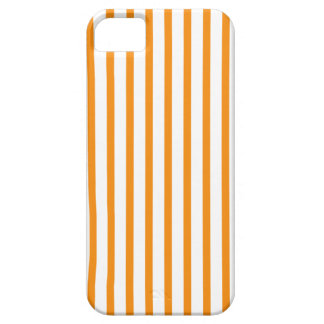 Orange and White Stripes iPhone 5 Cases