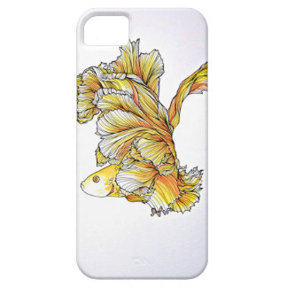 Orange and Yellow Fish iPhone 5 Covers
