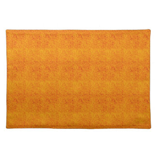 Orange and Yellow Micro Dots Placemat