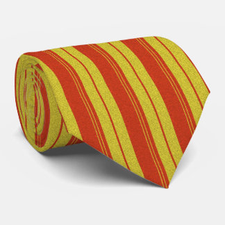Orange and Yellow Vertical Lines Tie