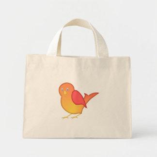 Orange Bird Bag