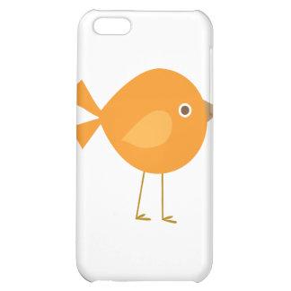 Orange Bird Case For iPhone 5C