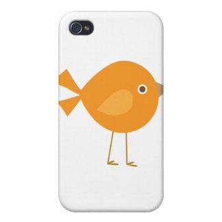 Orange Bird iPhone 4 Case