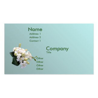 Orange Blossom Business Card