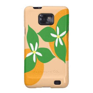 Orange Blossom Samsung Galaxy S2 Case