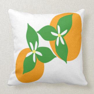 Orange Blossom Pillows