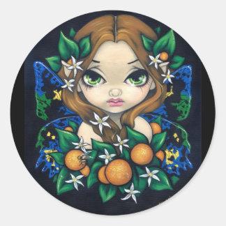 """Orange Blossom Fairy"" Sticker"