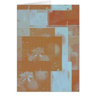 orange blossom fantasy original art greeting cards
