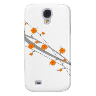 Orange Blossom Galaxy S4 Case