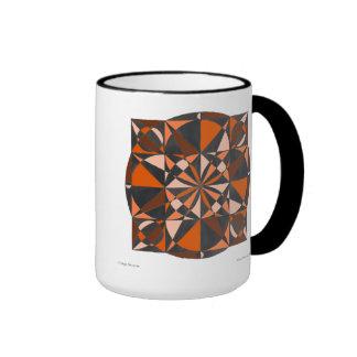 Orange Blossom Mandala Mug