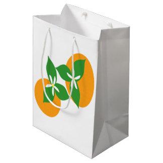 Orange Blossom Medium Gift Bag