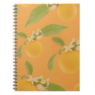 Orange Blossom Notebook