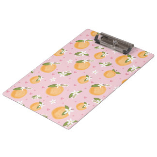Orange Blossom Special Clipboards