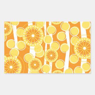 Orange Blossom Special Rectangular Sticker