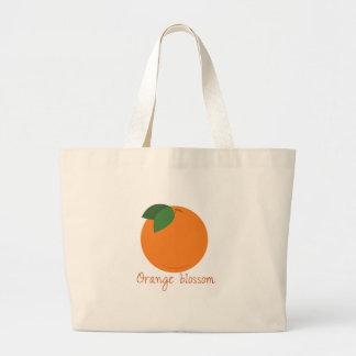 Orange Blossom Jumbo Tote Bag