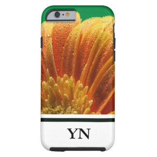 Orange Blossom with colorful petals Tough iPhone 6 Case