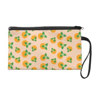 Orange Blossoms Wristlets
