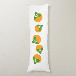 Orange Blossoms Body Pillow
