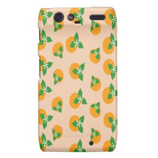 Orange Blossoms Motorola Droid RAZR Case